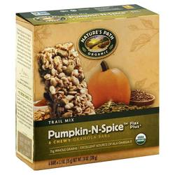 Natures Path Pumpkin-N-Spice Flax Plus Granola Bars
