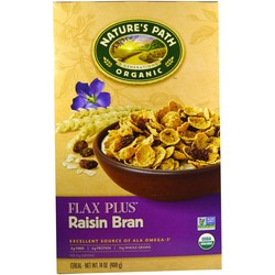 Natures Path Flax Plus Raisin Bran Flakes
