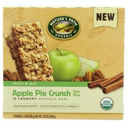 Natures Path Apple Pie Crunch Chia Plus Granola Bars