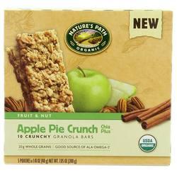 Natures Path Apple Pie Crunch Chia Plus Granola Bars