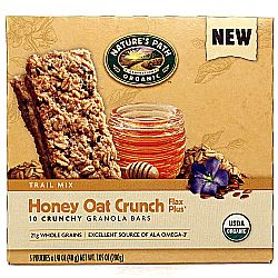 Natures Path Honey Oat Crunch Flax Plus Granola Bars