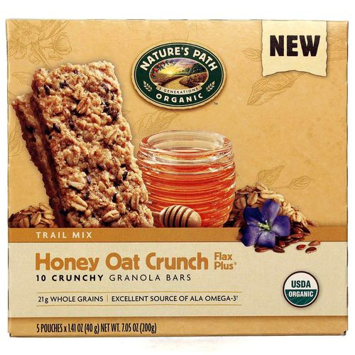 Honey Oat Crunch Flax Plus Granola Bars