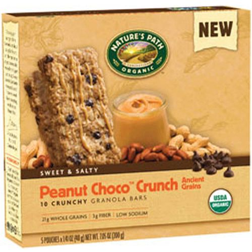 Peanut Choco Crunch Ancient Grains Granola Bars (6 Pack)