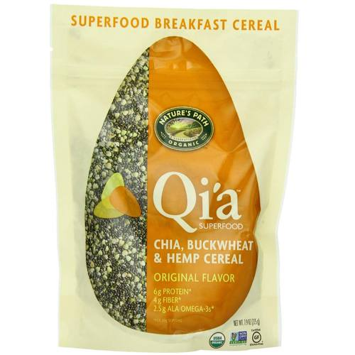 Qi'a Superfood Chia Buckwheat and Hemp Cereal