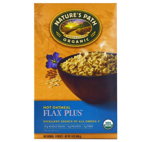 Flax Plus Oatmeal (6 Pack)