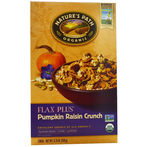 Flax Plus Pumpkin Raisin Crunch