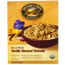 Natures Path Flax Plus Vanilla Almond Granola