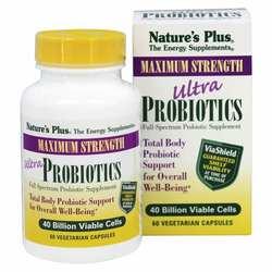 Nature's Plus Ultra Probiotics