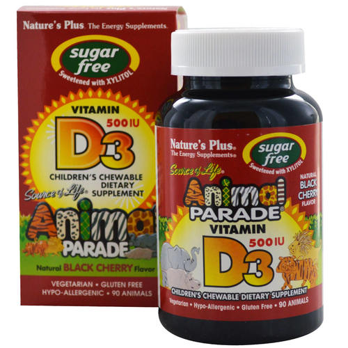 Animal Parade Children's Vitamin D3