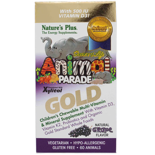 Animal Parade Gold Children's Chewable Multi-Vitamin