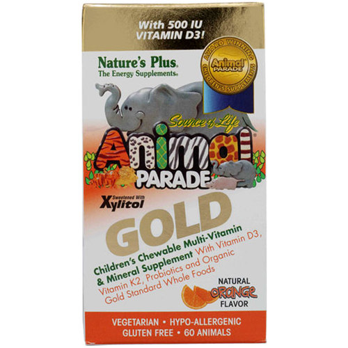 Animal Parade Gold Children's Chewable Multi-Vitamin and Mineral