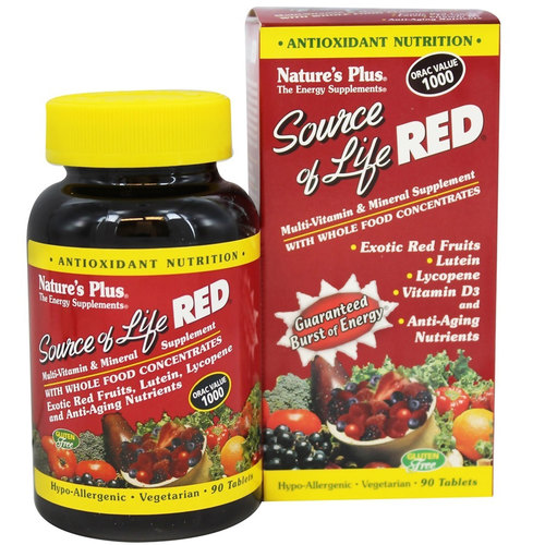 Source of Life Red Multi-Vitamin & Mineral