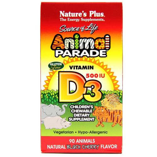 Animal Parade Vitamin D3
