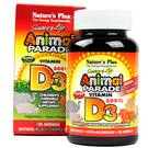 Animal Parade Vitamin D3 500 IU - 90 Chewable Tablets Yeast Free by Nature's Plus