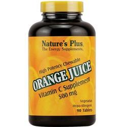 Nature's Plus Orange Juice C 500mg