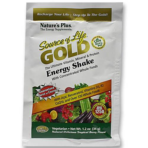 Source of Life Gold Energy Shake Single