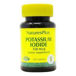 Nature's Plus Potassium Iodide 150 mcg