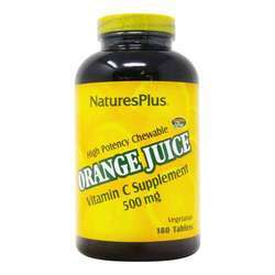 Nature's Plus Orange Juice C 500mg