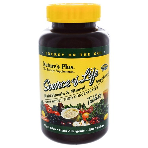 Nature's Plus Source of Life - 180 Tablets - 3727_01.jpg