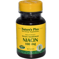Nature's Plus Niacin 100 mg