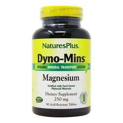 Nature's Plus Dyno-Mins Magnesium 250 mg