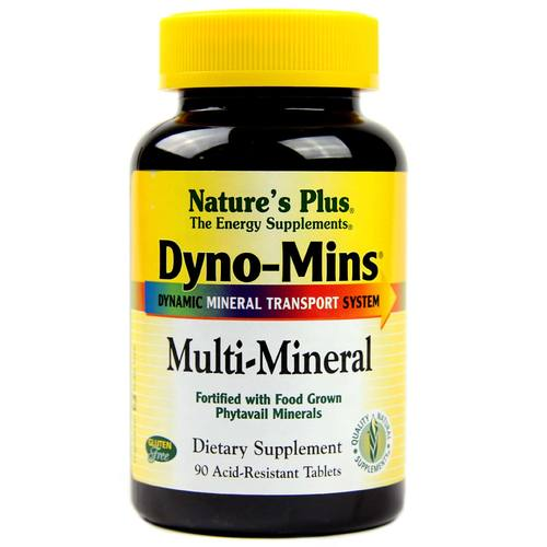Nature's Plus Dyno-Mins Multi-Mineral  - 90 Tablets - 3848_1.jpg