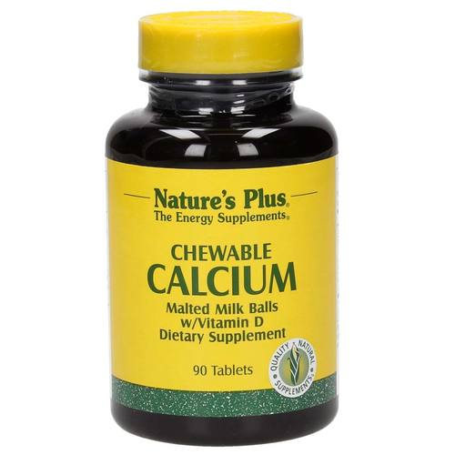 Chewable Calcium Malted Milk Balls w/ Vitamin D