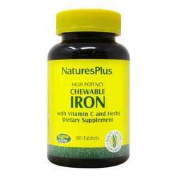 Nature's Plus Chewable Iron