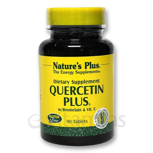Quercetin Plus with Vitamin C & Bromelain