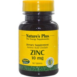 Nature's Plus Zinc 10 mg