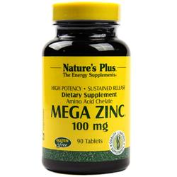 Nature's Plus Mega Zinc