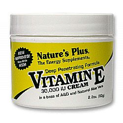 Nature's Plus Vitamin E 30,000 IU Cream