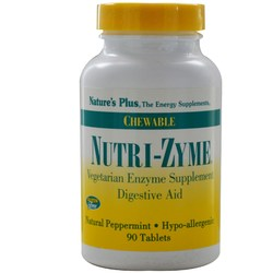 Nature's Plus Nutri-Zyme Chewable Digestive Aid
