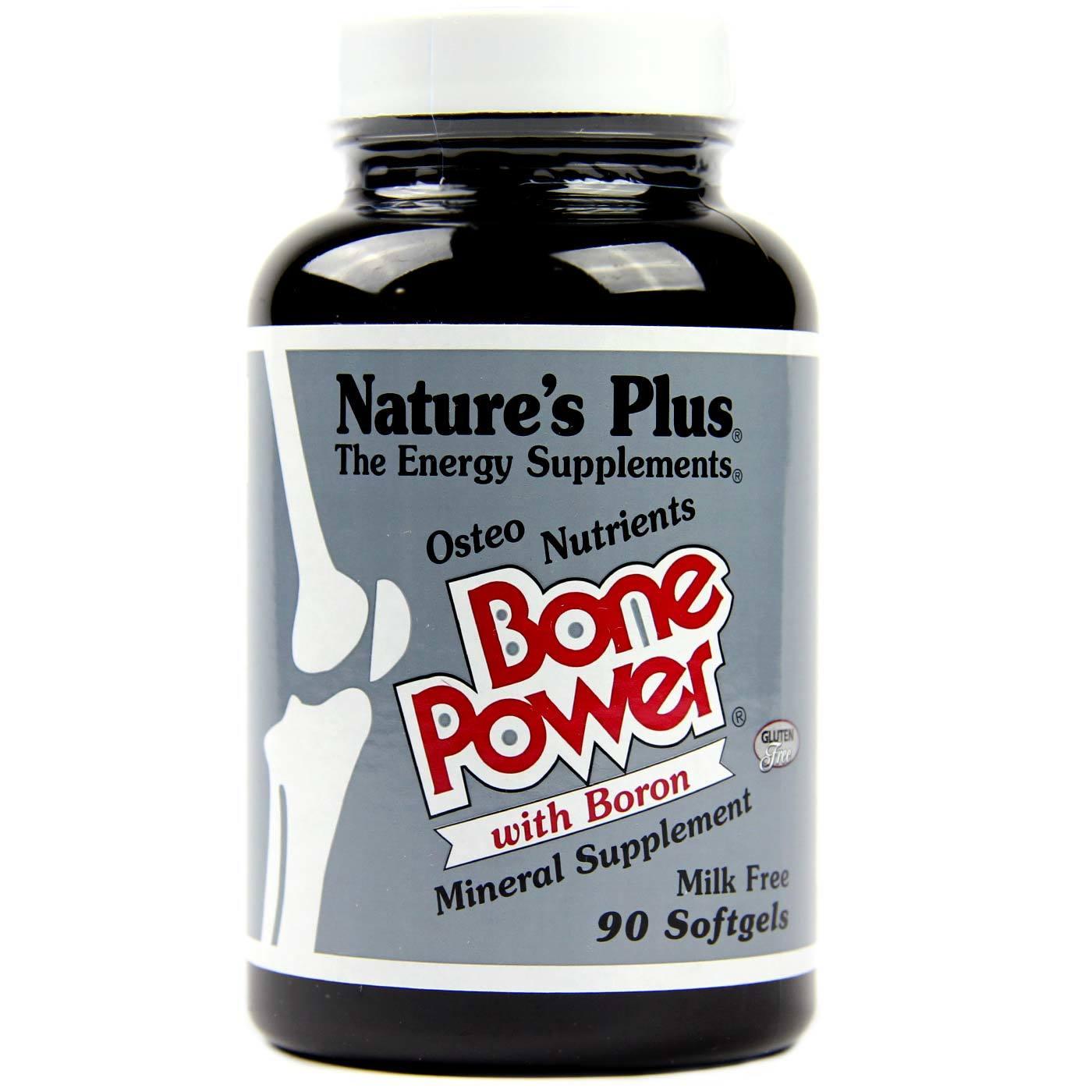 nature's plus bone power w/ boron - 90 softgels - evitamins, Skeleton