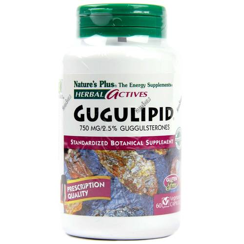Nature's Plus Gugulipid 750 mg 60 Cápsulas - 4012_1.jpg