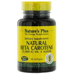 Nature's Plus Natural Beta Carotene 25,000 IU