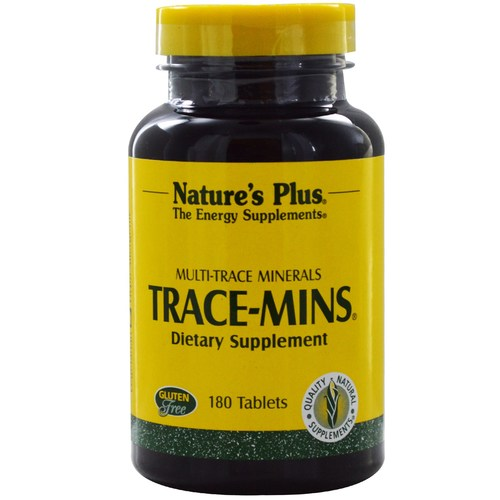 Nature's Plus TRACE-mins  - 180 Tablets - 447.jpg