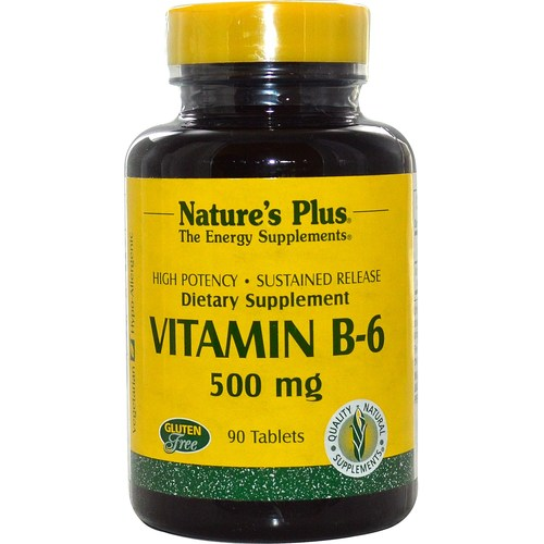 Sustained Release Vitamin B-6 500 mg