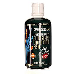 Nature's Plus Glucosamine Chondroitin MSM Ultra Rx-Joint Liquid