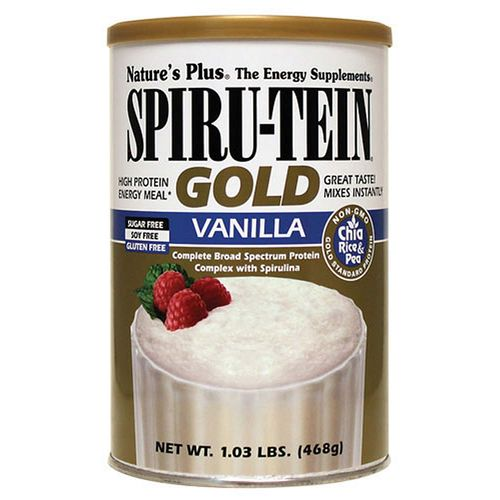 Nature's Plus Spiru-Tein Gold, ваниль - 1.03 lbs