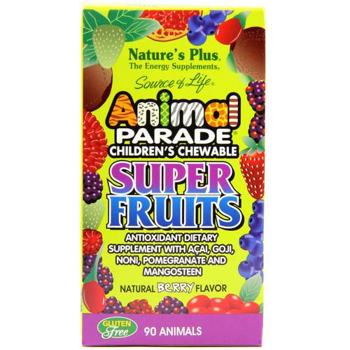 Animal Parade Children's Super Fruits