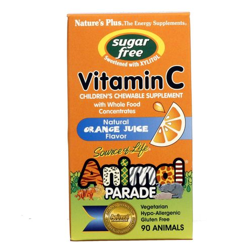 Animal Parade Sugar Free Vitamin C