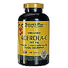 Acerola C Complex 500 mg - 150 Chewables Yeast Free by Nature's Plus
