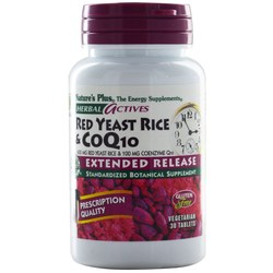 Nature's Plus Red Yeast Rice & CoQ10