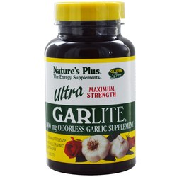 Nature's Plus Ultra Garlite 1000 mg - Sustained Release