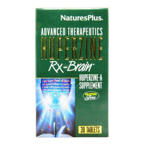 Nature's Plus Huperzine Rx-Brain - 30 Tablets - 86_front2020.jpg