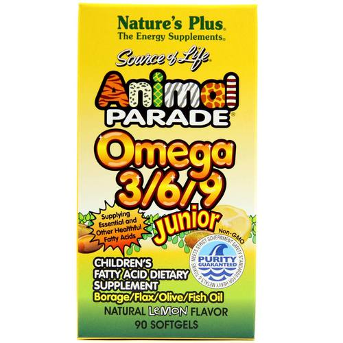 Animal Parade Omega 3/6/9 Junior