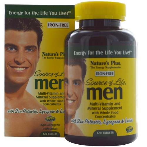 Source of Life for Men (Iron Free)
