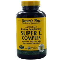 Nature's Plus Super C Complex 1000 mg