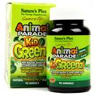 Nature's Plus Animais Parade KidGreenz 90 mastiga